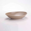 "DE TERRA OVAL BOWL 9"" l 23 CM - SANDY KHAKI - DON BELLINI # DB2221023"