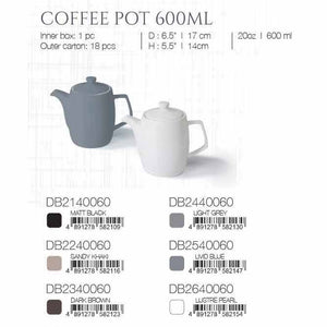DE TERRA COFFEE POT 600ML - SANDY KHAKI - DON BELLINI # DB2240060