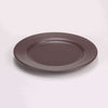 "DE TERRA PLATE 9"" l 23CM - DARK BROWN - DON BELLINI # DB2310123"