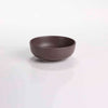 "DE TERRA ROUND BOWL 5"" l 12.5 CM - DARK BROWN - DON BELLINI # DB2329013"