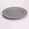 "DE TERRA PLATE 9"" l 23CM - LIGHT GREY - DON BELLINI # DB2410123"