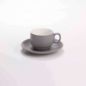 DE TERRA COFFEE CUP 125ML - LIGHT GREY - DON BELLINI # DB2439013