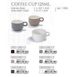 DE TERRA COFFEE CUP 125ML - LIVID BLUE - DON BELLINI # DB2539013