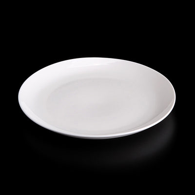 "ROLLED RIM DINNER PLATE 9"" (6 PIECES)"