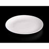 FINE CHINA ROLLED RIM DINNER PLATE 10"