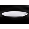 FINE CHINA THICK RIM OVAL PLATE 14"