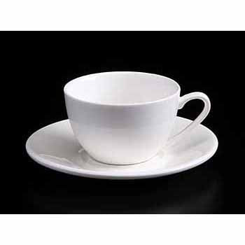 FINE CHINA 6 OZ | 180 ML CAPPUCCINO CUP - WHITE - DON BELLINI # DB3030018