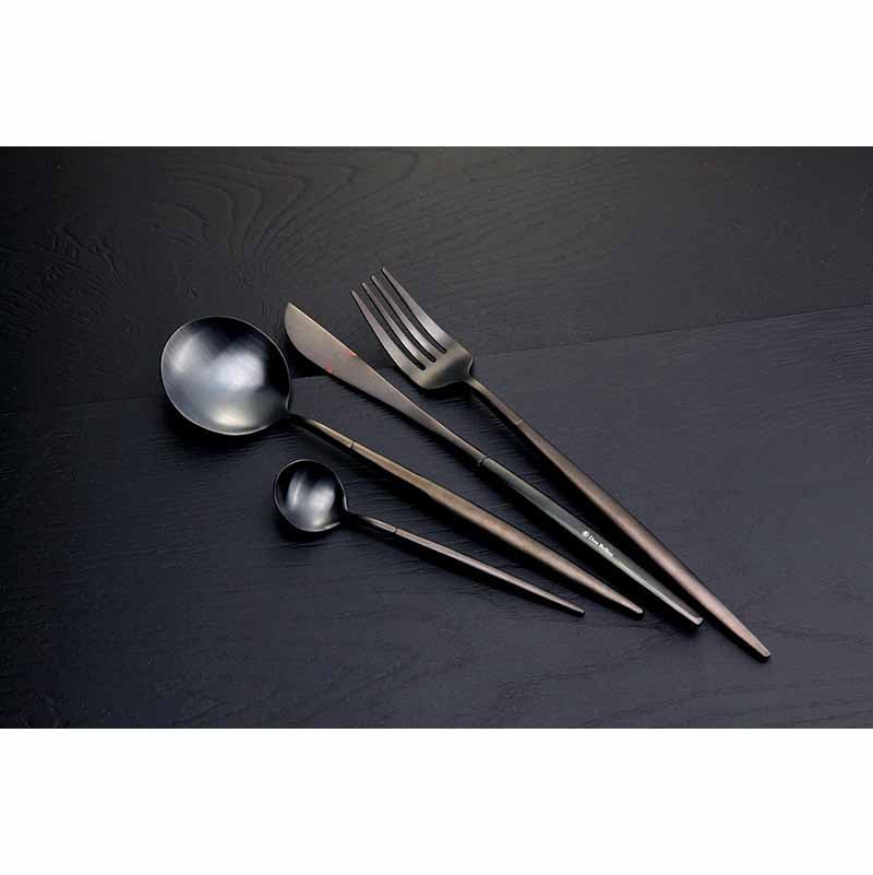 DINNER FORK - BLACK - DON BELLINI # DB9911TBF