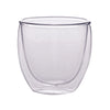 85ML TEACUP WITH DOUBLE WALL - 2 PCS - FIRST HOUSE # FH-353A