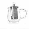 Glass Teapot with Stainless Steel Filter 600ML