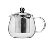 400ML GLASS TEA CUP WITH STAINLESS STEEL FILTER - FIRST HOUSE # FH-772X2