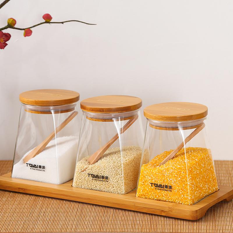 SEASONING JAR - 3PCS - TQVAI # H601