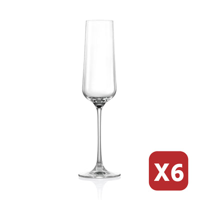 HONG KONG HIP CHAMPAGNE GLASS - 270ML (6 pieces)