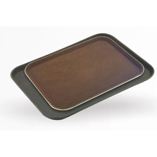 RECTANGULAR TRAY - BROWN - SUNNEX # MPE1826BR