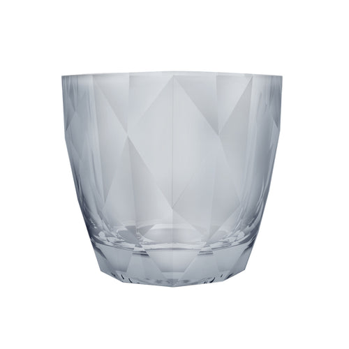DIAMOND ROCK GLASS - SILVER - NOBILE # N451099-1