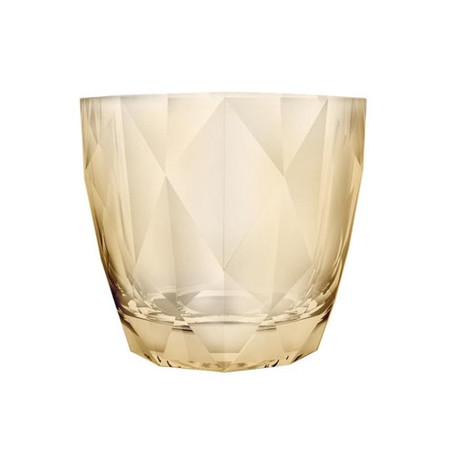 DIAMOND ROCK GLASS - GOLD - NOBILE # N451099-2