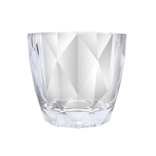 DIAMOND ROCK GLASS - NOBILE # N451099