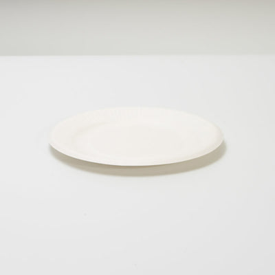 "6"" PLATE 100% BIODEGRADABLE  (10PCS/PACK x 3)"