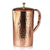 1.5L COPPER JUG WITH LID