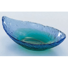 CORAL SEA BOAT SHAPED BOWL - ASSORTED - TOYO SASAKI # WA3306