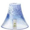 HAND MADE FUJI MOUNTAIN SAKE CUP - BLUE