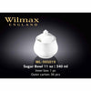 11 OZ SUGAR BOWL - WHITE - WILMAX # WL-995019