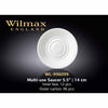 MULTI - USE SAUCER - WHITE - WILMAX # WL-996099