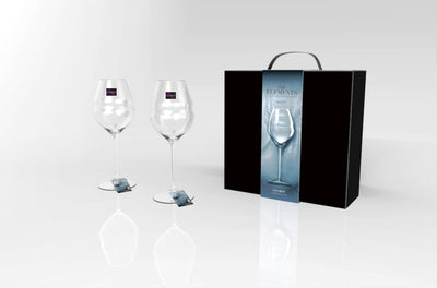ELEMENTS WATER HAND-MADE WINE GLASS 565ml (2 piece Pack)