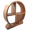 WOODEN TEA SET DISPLAY STAND - ROSE GOLD - ASSORTED - WOODWARE # YG420440-RG