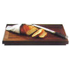 SAPELE RECTANGULAR BREAD CHOPPING BOARD - BROWN - WOODWARE # YG48032043