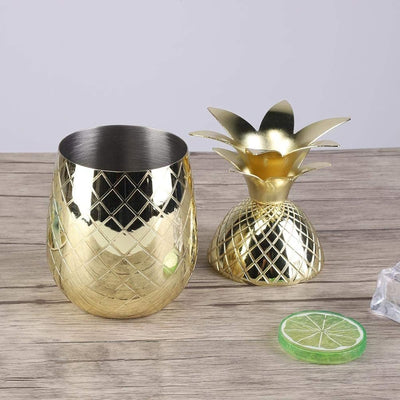 PINEAPPLE CUP GOLD 500ML