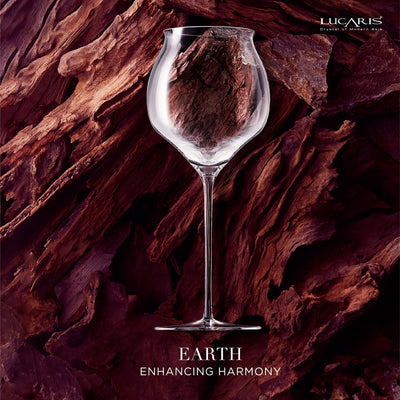 THE ELEMENTS EXPLORER HAND-MADE WINE GLASS (5 Piece Set)