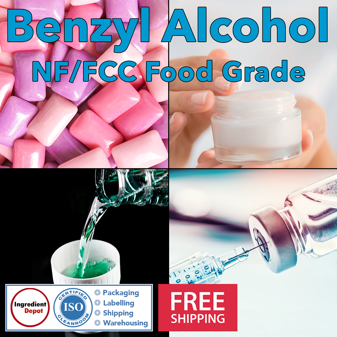 Benzyl Alcohol NF/FCC Food Grade Banner Square