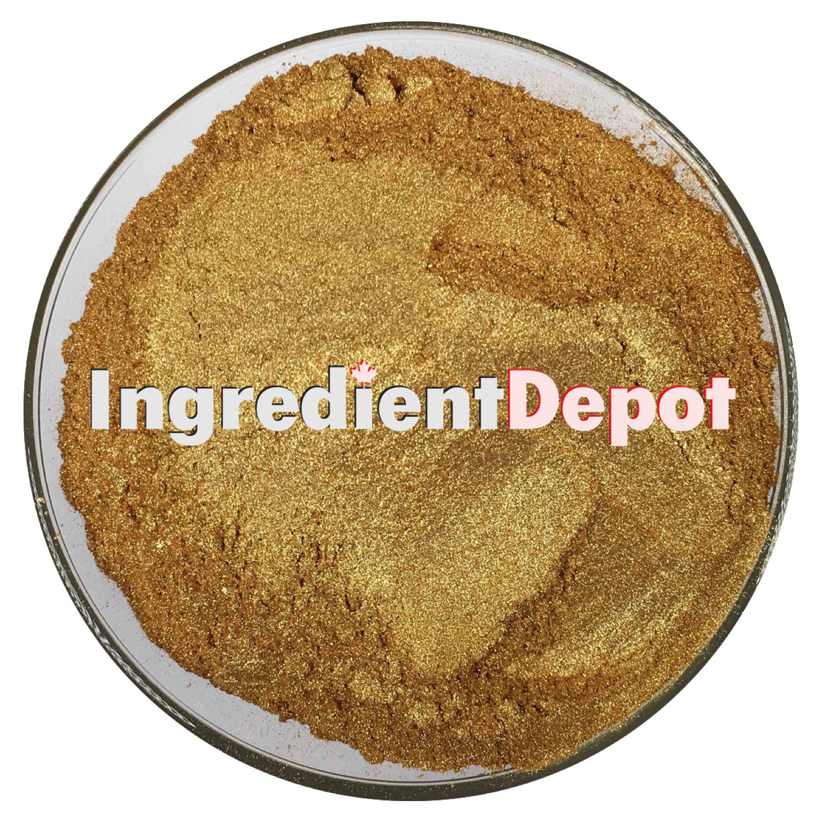 Gold Sparkle Candurin® Raw Material Powder