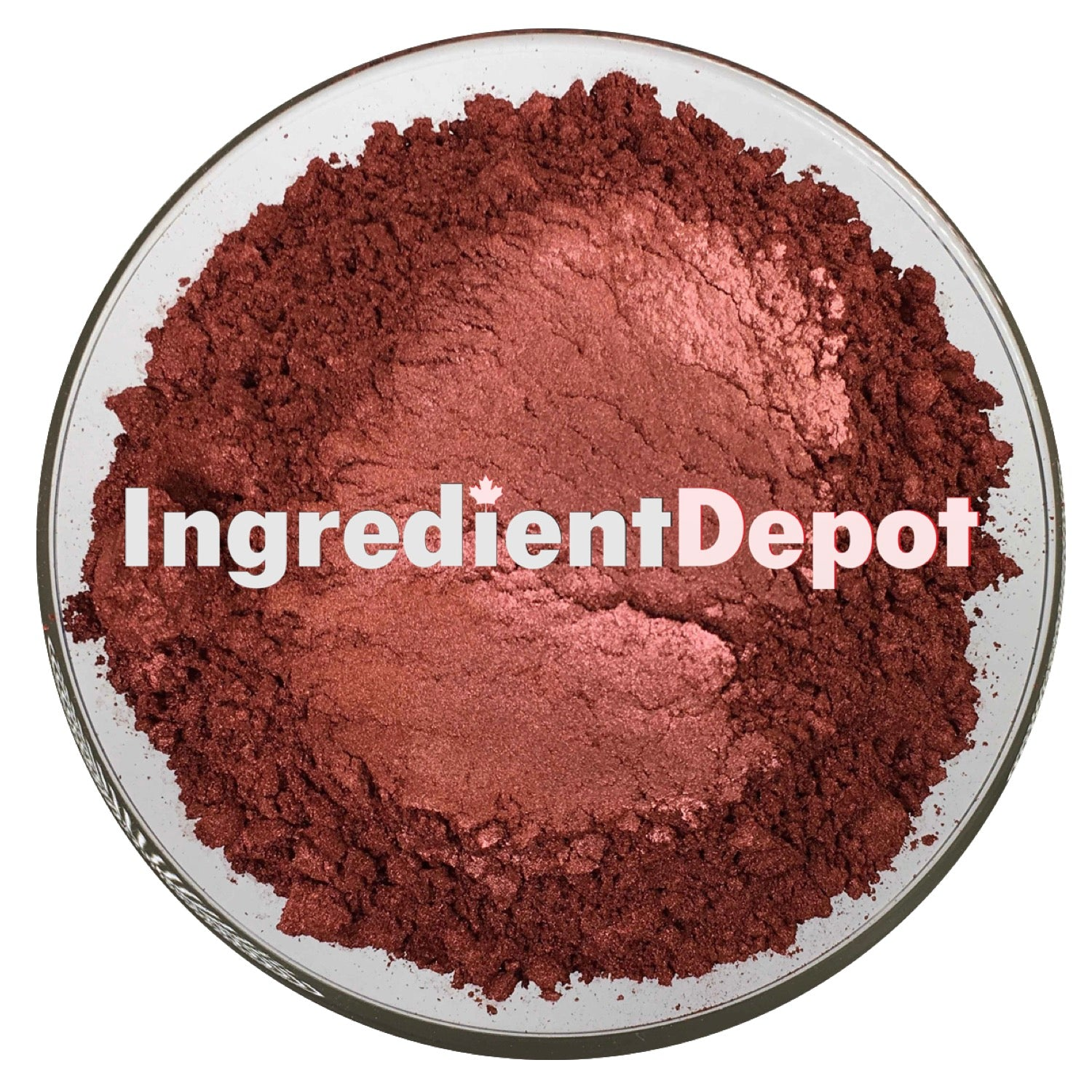 Red Amber Powder Candurin | Free Shipping