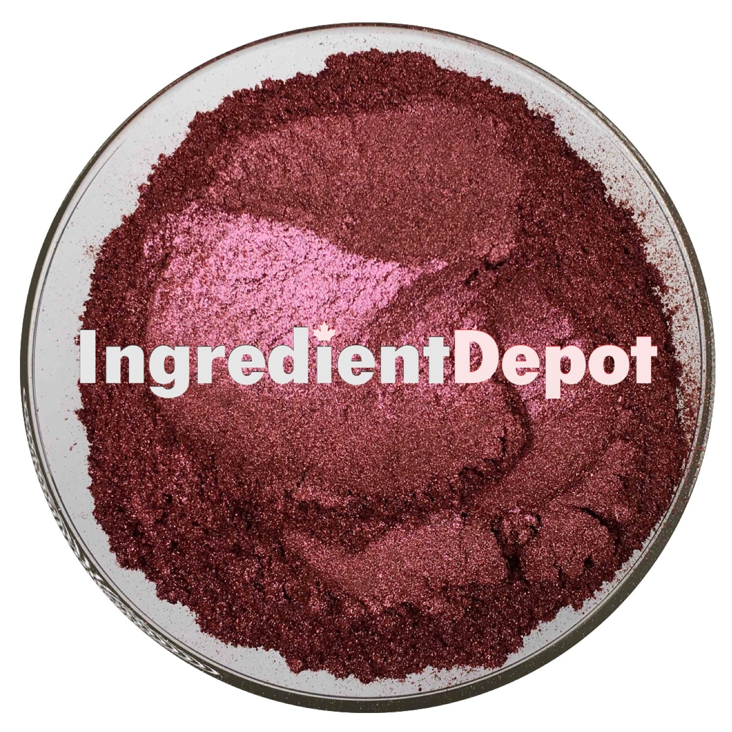 Red Sparkle Powder Candurin | Free Shipping