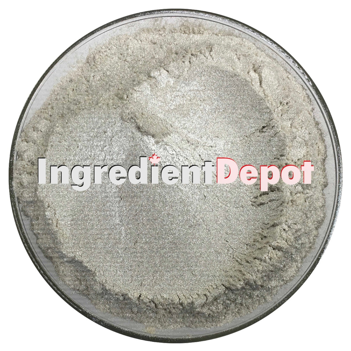 Silver Sparkle Candurin® Raw Material Powder