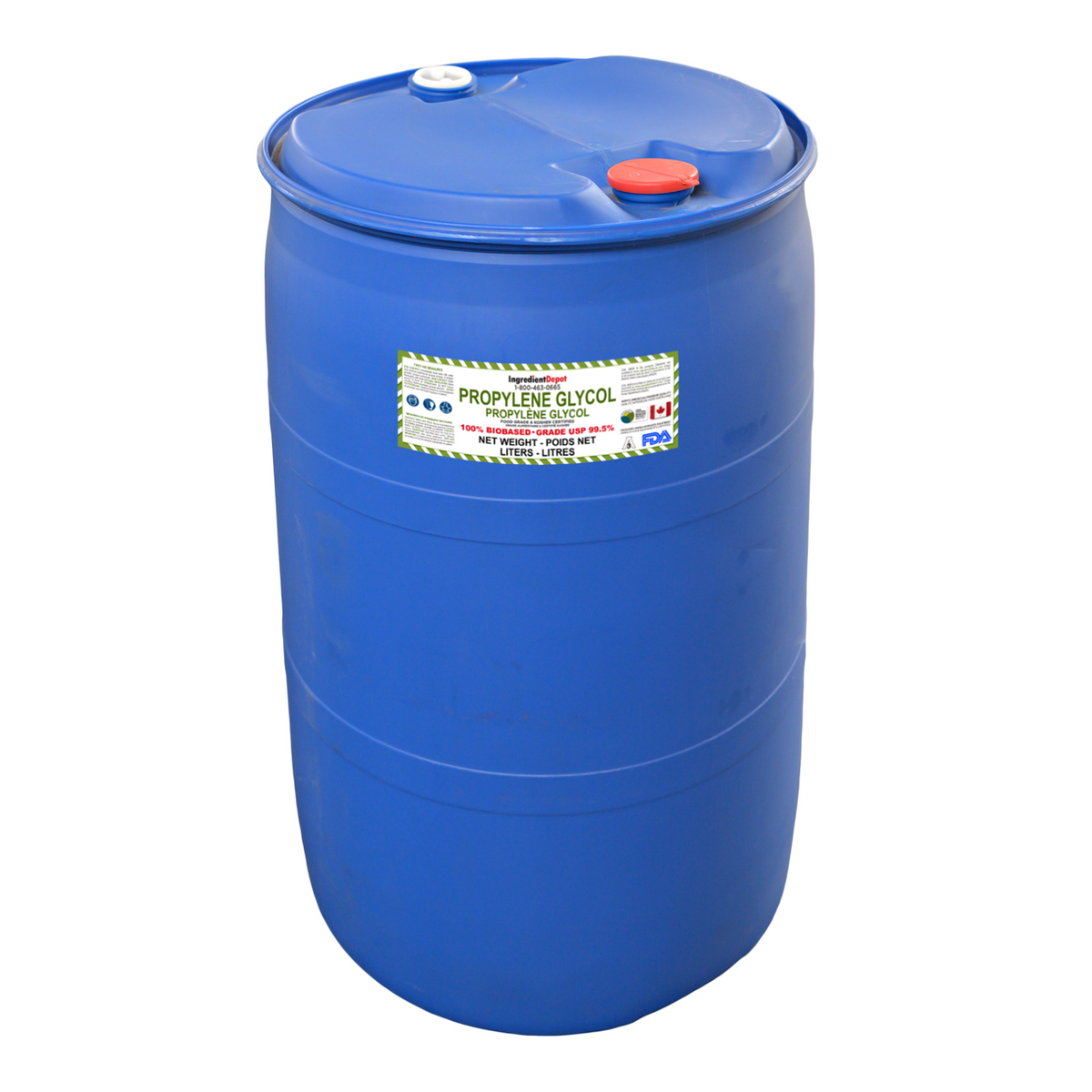 Propylene Glycol North American PG 99.5% USP 100% BIOBASED | 200 litres in a Drum