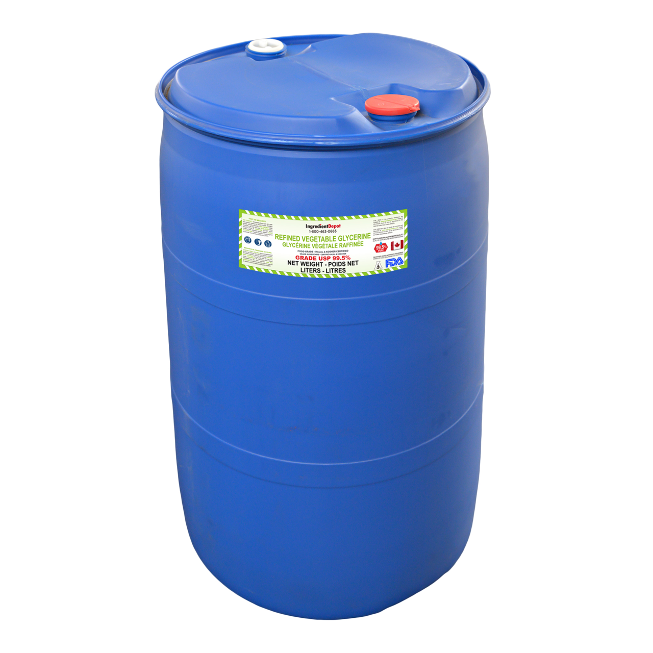 Vegetable Glycerin 99.5% USP Food Grade | 200 litres in a Drum
