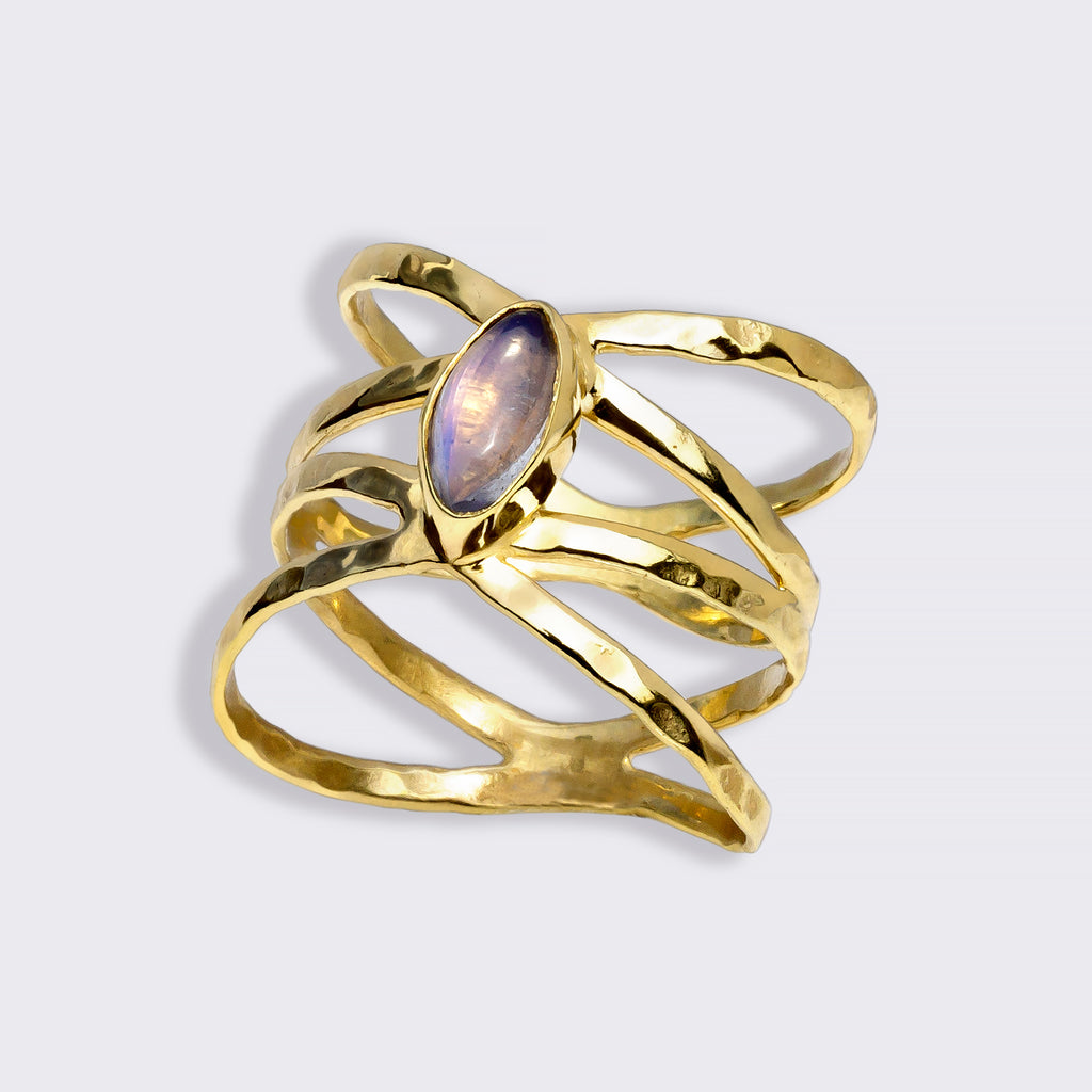 PRIYA Custom Ring Moonstone