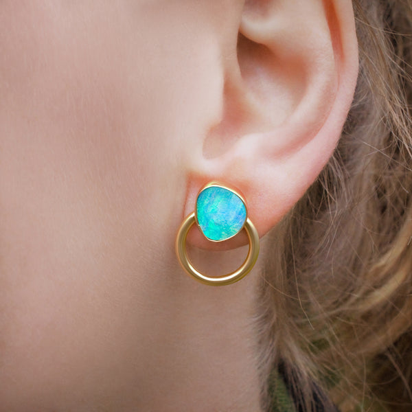 EWA Multiwear Ear Jackets Recycled Gold
