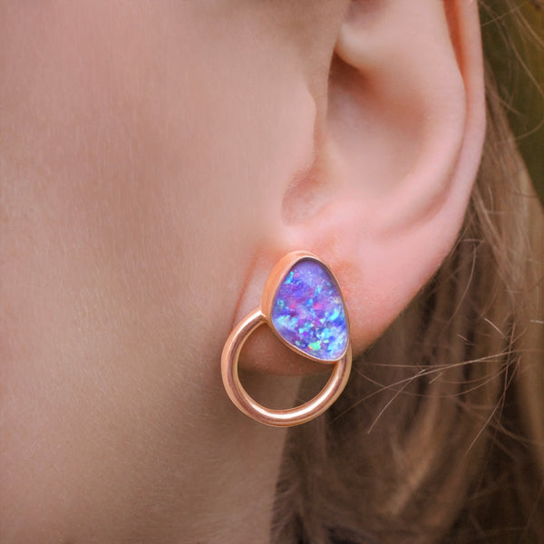 EWA Multiwear Ear jackets Recycled Rosegold