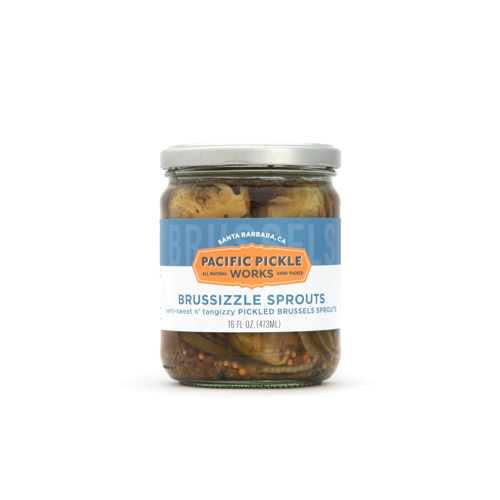 Pacific Pickle Works - Brussizzle Sprouts - Pickled Brussels Sprouts Vegetables