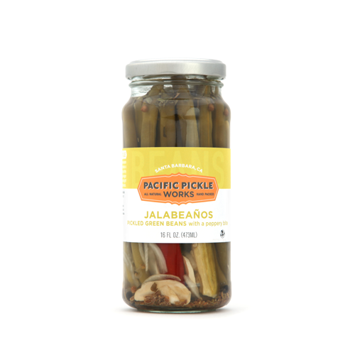 Pacific Pickle Works - Jalabeaños - Pickled Green Beans Vegetables
