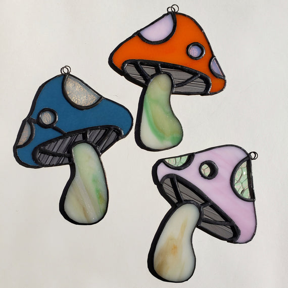 Mushroom stained glass