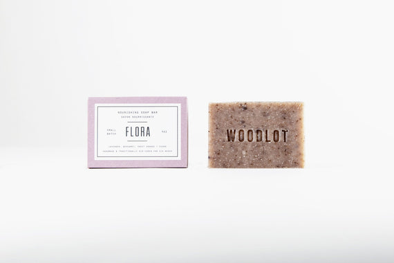 Woodlot Nourishing Flora Soap Bar
