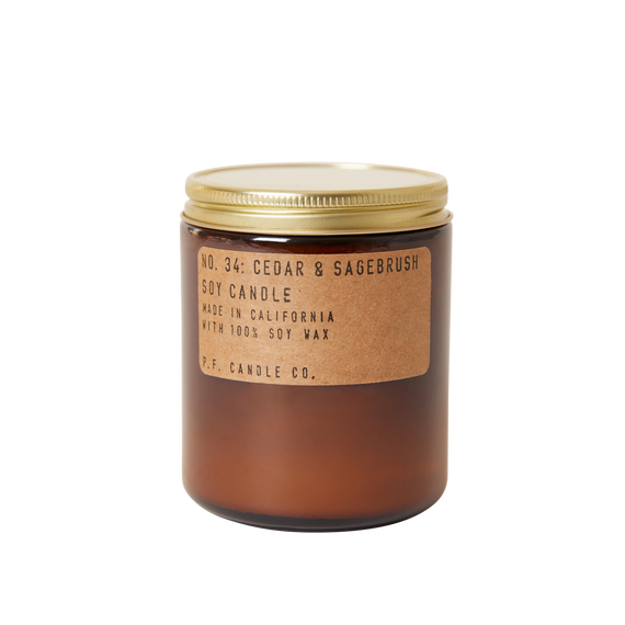 P.F. Candle Co. - *NEW* Cedar & Sagebrush - 7.2 oz Standard Soy Candle