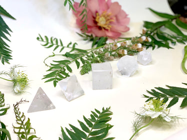 Quartz Crystal Element Stones