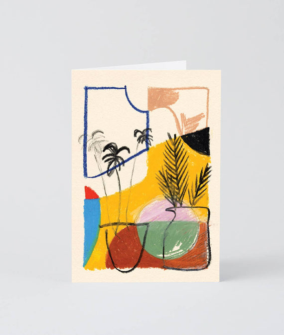 Wrap - 'Water The Plants' Art Card