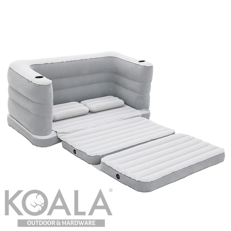 Wondrous Bestway 2 In 1 Inflatable Sofa Bed Grey Andrewgaddart Wooden Chair Designs For Living Room Andrewgaddartcom